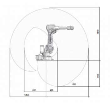 ABB IRB2600-20/165 机器人耐高温防护服