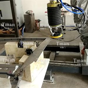 车门焊缝打磨工作站