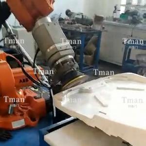 塑料托盘自动打磨工作站