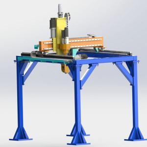 龙门式六轴打磨机器人