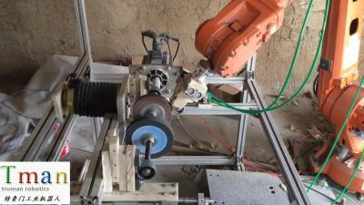 机器人打磨铝条